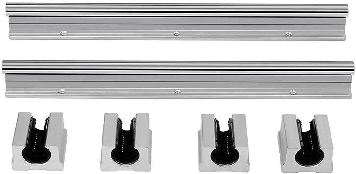 5 Stück Linear Motion Maschinen Linearkugellager Buchse Set Silber