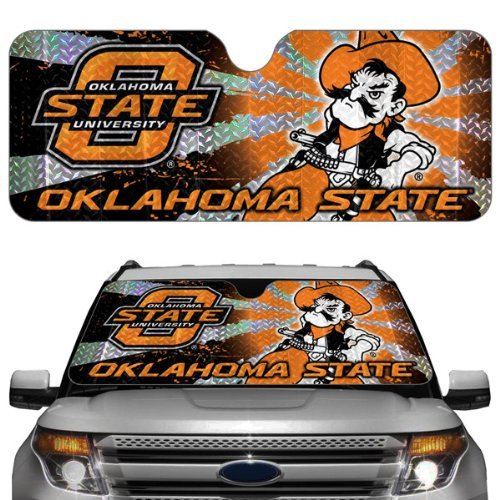 NCAA Oklahoma State Cowboys Auto Sun Shade by Team ProMark by Team ProMark