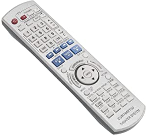 New EUR7662Y30 Replacement Remote Control fit for Panasonic DVD Receiver Home Theater Stereo System SA-HT740 SA-HT743 SA-HT940 SA-HT744 SA-HT740P SC-HT740 SC-HT940 SC-HT743 SC-HT744 SAHT743 SAHT940
