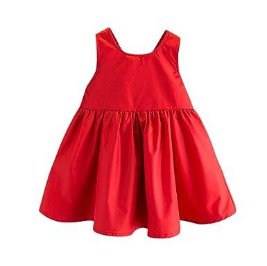 Logobeing Vestidos Niña Verano, 0-6 Años Vestido Recien Nacido ...