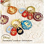 Disney Fantastic Leather Collection Alice Key Ring bag Accessory Japan F/S