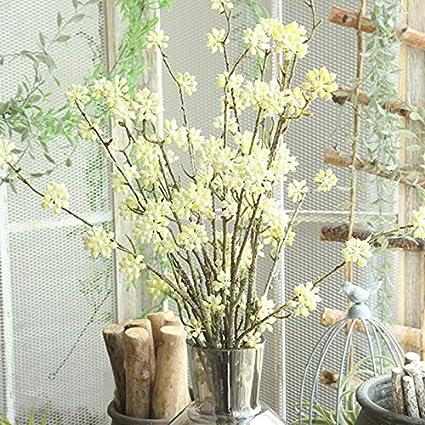Amazon Com Artificial Dried Flowers 1pcs Christmas Flower Core