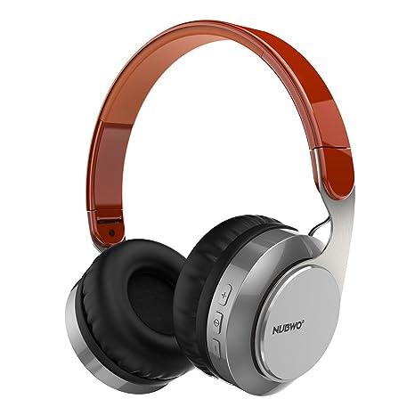 Auriculares Bluetooth, Nubwo S8 Plegable en Ear estéreo inalámbrico/con Cable Auriculares con micrófono