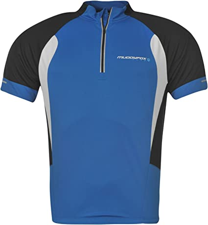 Muddyfox Herren Radlershirt Fahrrad T Shirt Trikot Kurzarm Radsport Rad Tee