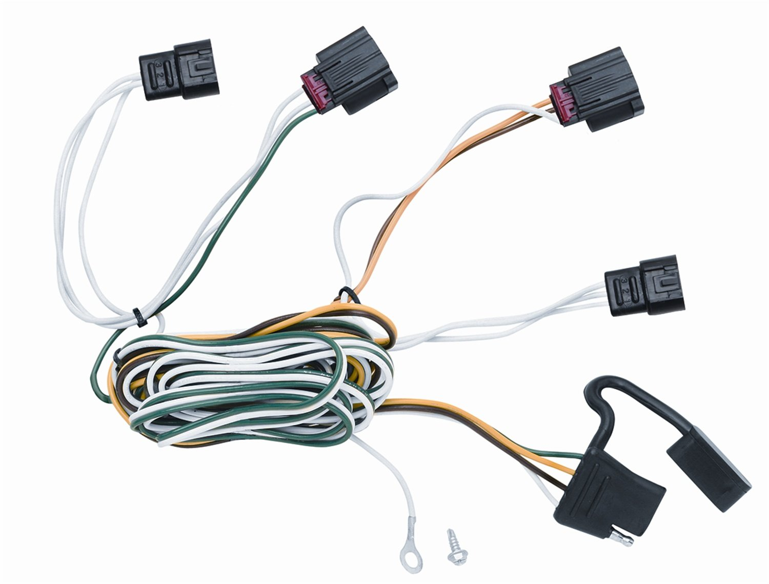 Amazon.com: Vehicle To Trailer Wiring Harness Connector For 10 Dodge  Journey Plug Play: Automotive