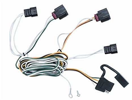 amazon com vehicle to trailer wiring harness connector for 10 dodge