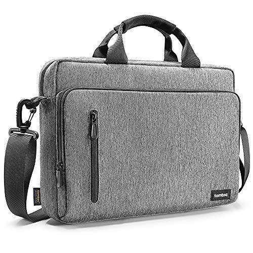 tomtoc 13.3 Inch Laptop Shoulder Bag for 13 MacBook Dell XPS 13 Surface Laptop (Best Messenger Bags 2019)