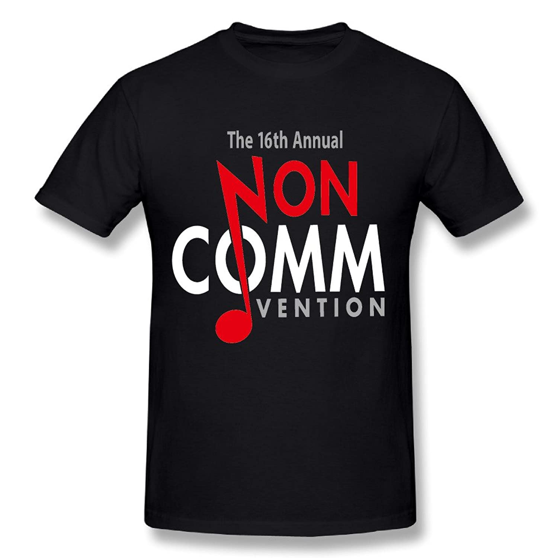 16th Annual NON COMMvention Men Black Short Sleeve T-shirt