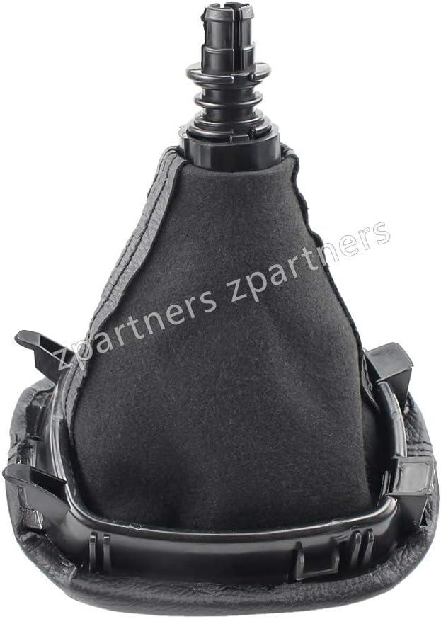 Pommeau de Levier de Vitesses en Cuir pour Seat Leon 1 MK1 pour Toledo IL MK2 Couvre-Soufflet 12mm 5 Vitesses