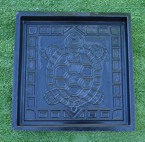 Betonex SOLD mold Turtle Stepping Stone Concrete Cement Mould garden path S41 (Mold Plastic Abs Stone Stepping)