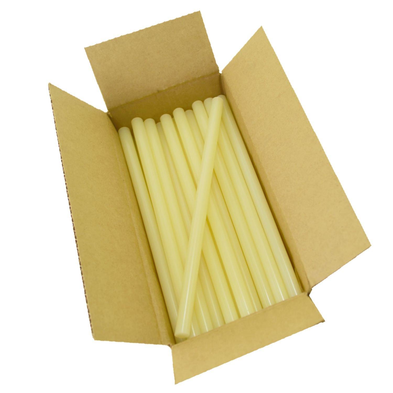 Surebonder 701R510 Fast Set Sealing Standard Glue Sticks, Made in The USA, 7/16'' x 10'' Length, 5 lb. Box, Light Amber, 90 Sticks (Pack of 90) by Surebonder