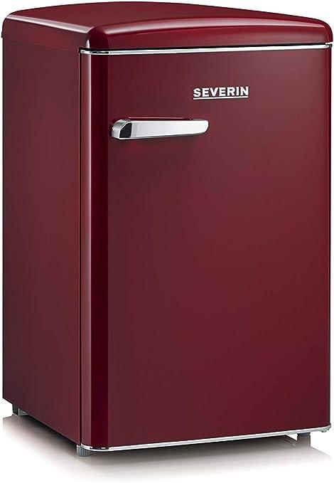 SEVERIN RKS 8831, Mini-Frigorífico Retro, 106 L, Rojo burdeos: Amazon.es: Grandes electrodomésticos