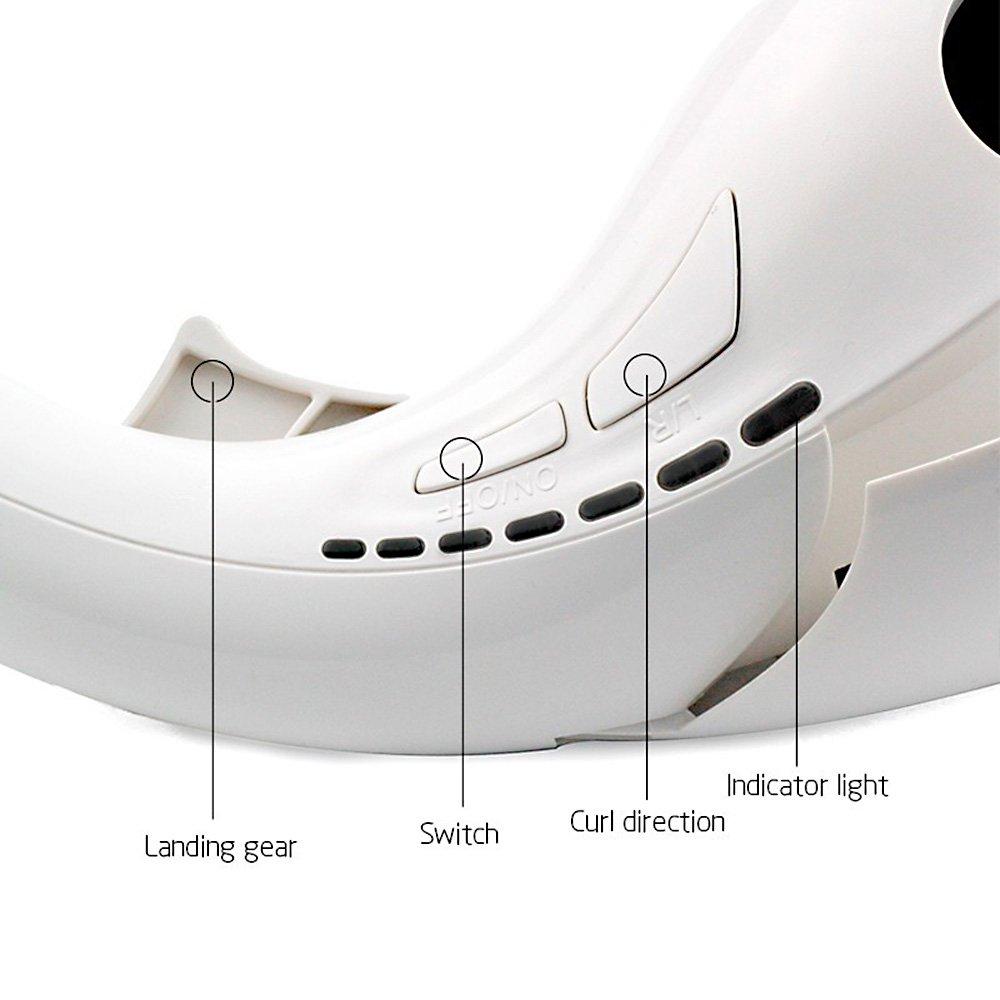 Anself Mini Rizador de pelo eléctrico automático portátil de inhala moldeador de cabello funciona rápidamente para viaje casa: Amazon.es: Salud y cuidado ...