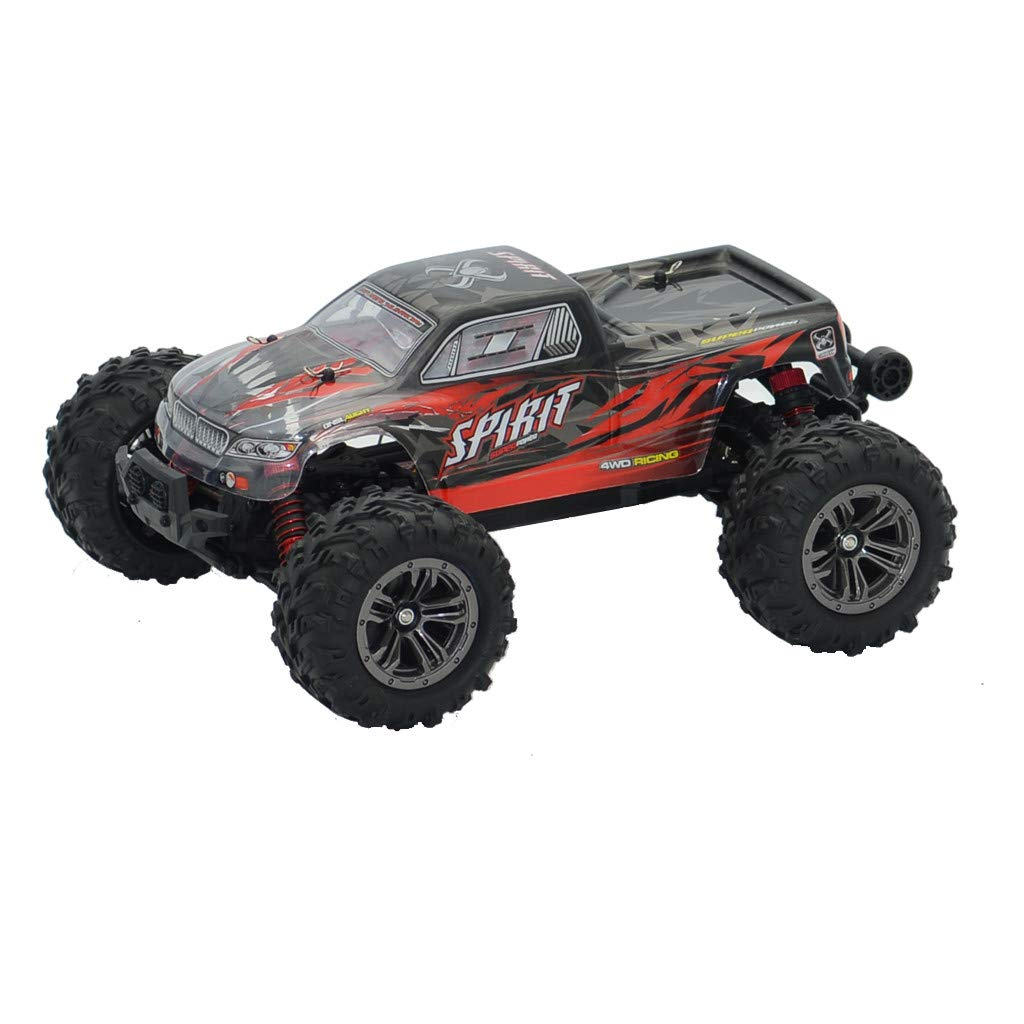 RC Cars for Kids/Adults Fast, Q901 Brushless 2.4G 1:16 4WD 52km/h High-Speed Off-Road Monster Truck RC Car RTR (Red) by Kids Toys by Goodtrade8 (Image #5)