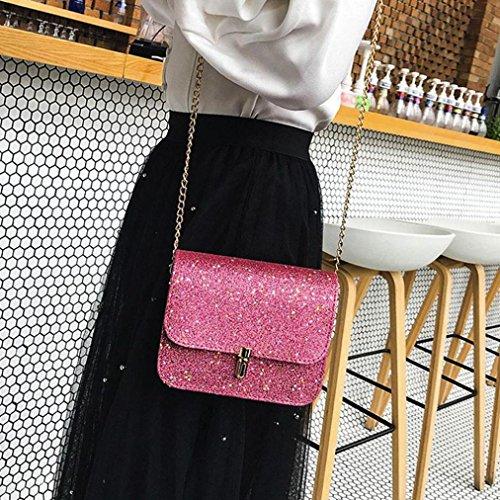Bag Crossbody Messenger Mode Schoudertas Beige Tassen grijs Chain Zwart Goud Sequin Roze Grijs Rood Ohq q5pg1xx