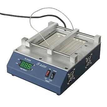 Wotefusi Industrial Nueva 220 V 800 W Termostato Infrared Ray estación de precalentamiento Precalienta horno Supplies