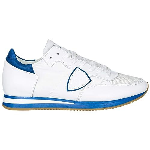 Philippe Sneakers Uomo Model Neon BluetteAmazon Blanc it Tropez iOZPukX