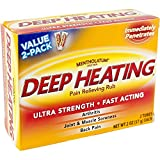 Mentholatum Deep Heating Rub-4oz
