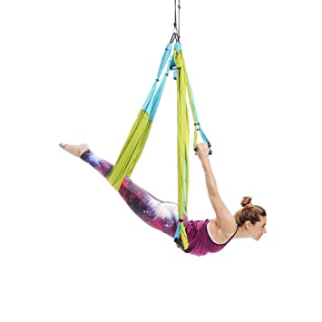 Amazon.com: Ranbo Yoga Inversion Swing - Trapecio aéreo ...