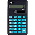 Calculadora de Bolso Tris Pop Azul/Preto 8digitos Bat. , 01 Unidade Summit, Multicor