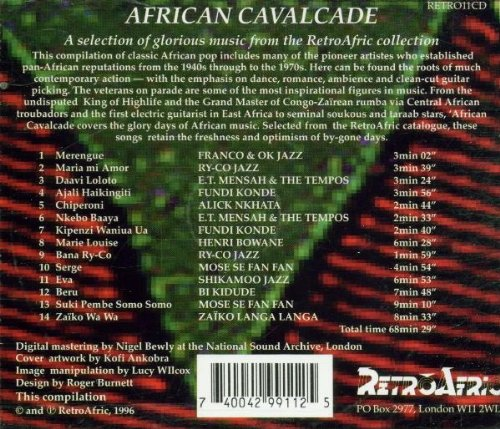 African Calvalcade - The Glory Days of African Music