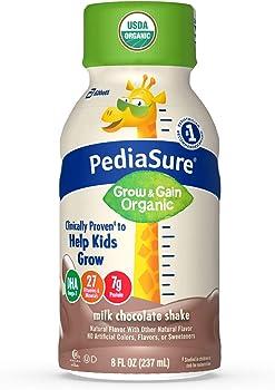 24-Count Pediasure Organic Kid's Milk Chocolate Nutrition Shake