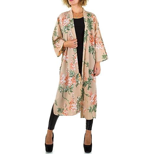 ce6e0cf4993d Schuhcity24 Damen Tunika Designer Bluse Festlich Elegantes Hemd Buisness  Partybluse Gemusterter Kimono  Amazon.de  Bekleidung