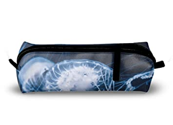 Trousse blanc méduse meilleur trousse pour adultes enfants pen