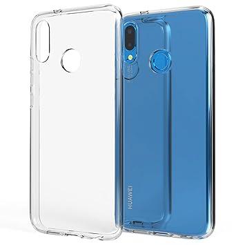 NALIA Funda Carcasa Compatible con Huawei P20 Lite, Protectora Movil Silicona Fina Gel Cubierta Estuche, Goma Telefono Bumper Phone Cover Cobertura ...