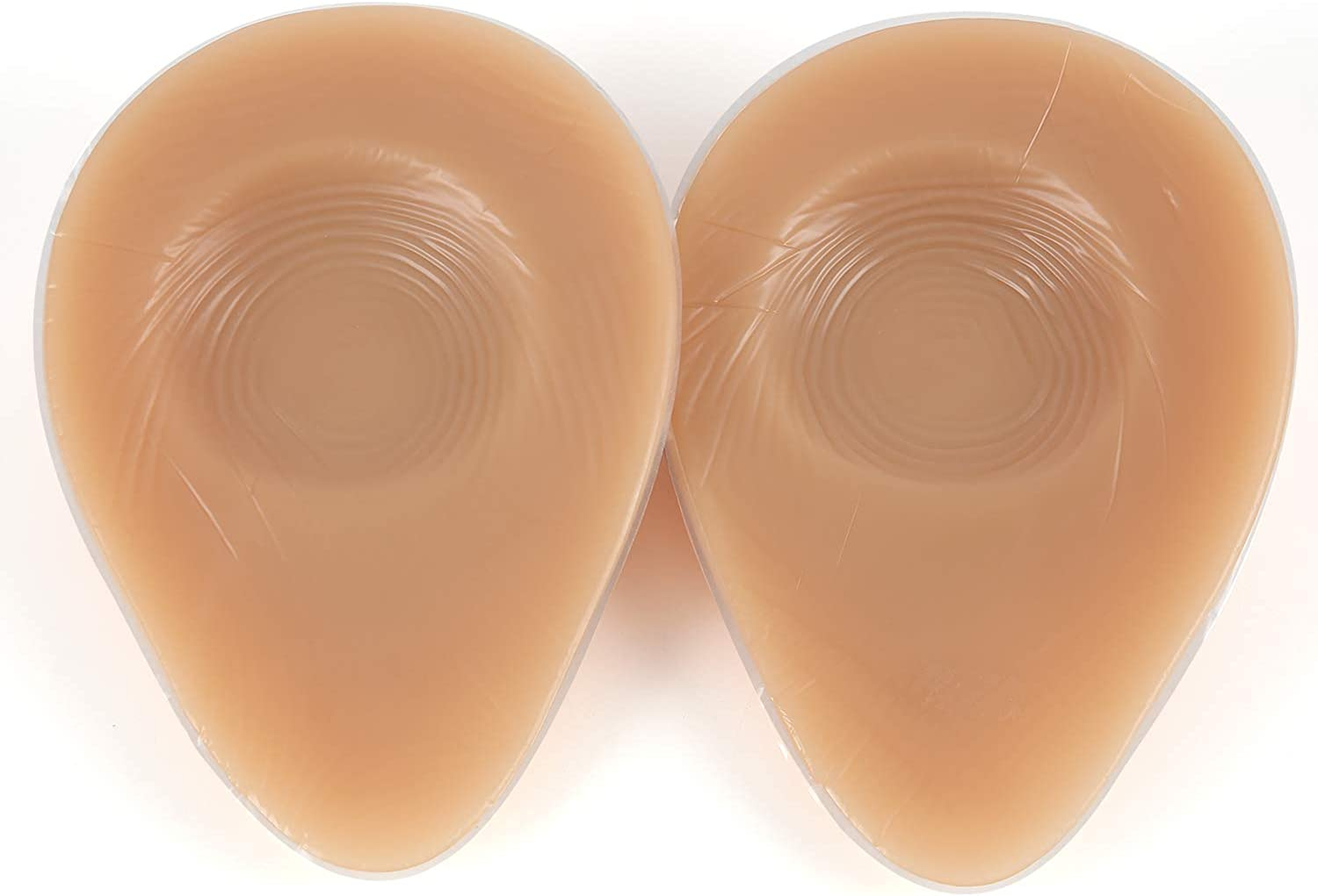 IVITA Silicone Breast Forms for Crossdressers Mastectomy Prosthesis Bra Pads Inserts Waterdrop Shape One Pair