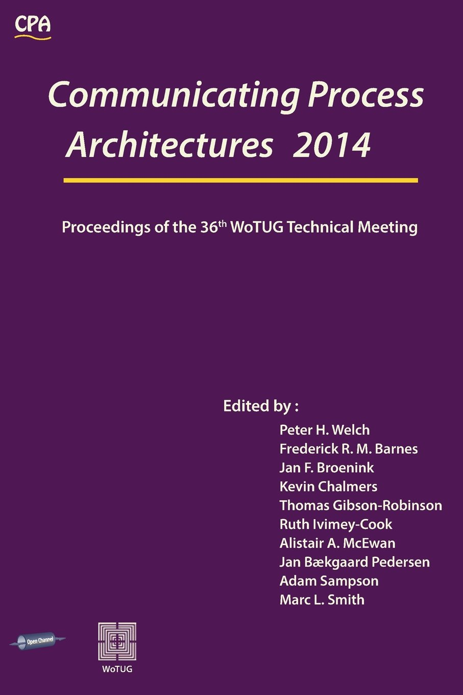 Read Online Communicating Process Architectures 2014 ebook