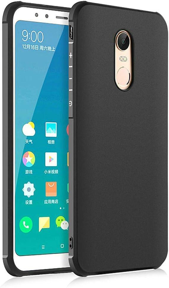 Hevaka Blade Xiaomi Redmi 5 Plus Funda - TPU Carcasa Smart Case Cover Para Xiaomi Redmi 5 Plus - Negro