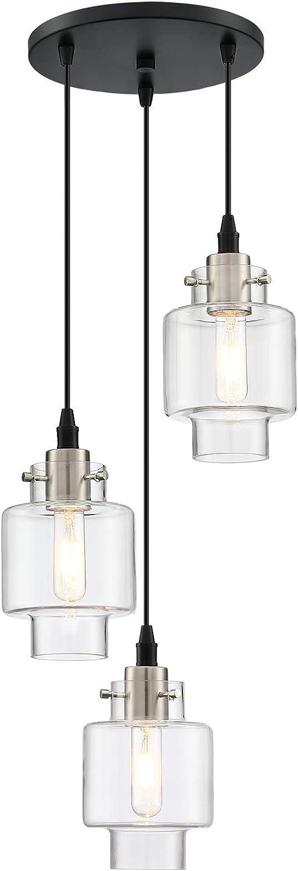 MOTINI 3 Light Cluster Pendant Light