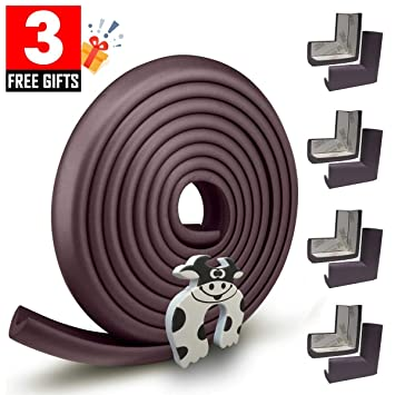 10PCS Metal Boxes Corner Protector Edge Safety Bumpers Furniture Sector Durable