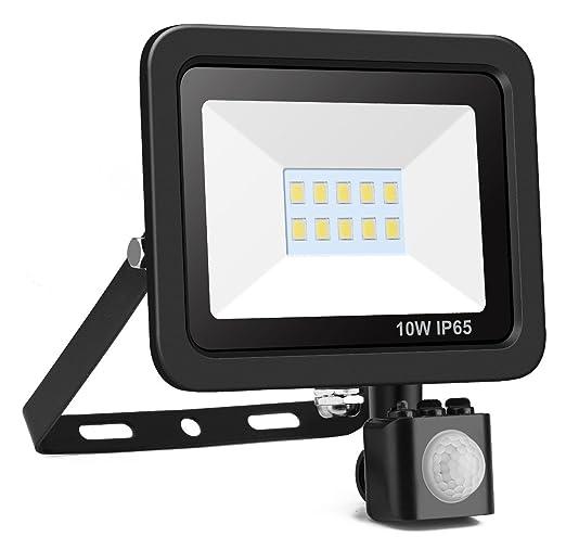 Minger 10w Pir Motion Sensor Led Flood Lights Outdoor Security