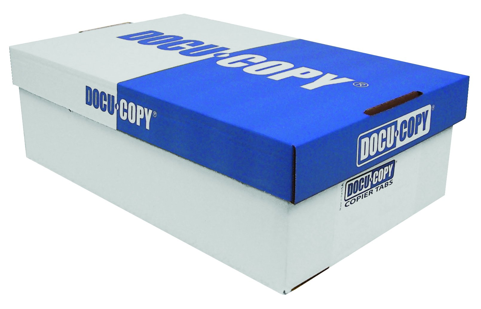 DocuCopy Trilar Index Tabs 90# Paper 1/5 Cut Reverse Collated No Holes