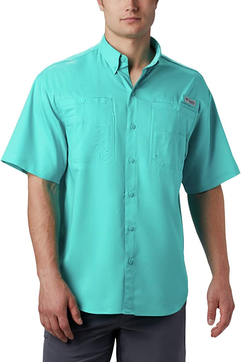 Columbia Men's PFG Tamiami II Short Sleeve Shirt: Clothing
