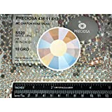 White Opal AB HOTFIX, 1440 Preciosa Genuine Czech Crystals 20ss Viva Iron-on Rhinestones, ss20, 5mm