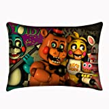 (Color 8) - Standard Size Five Nights at Freddy's Pillowcase Bear Cover Two Sides Pillowslip 50cm x 80cm