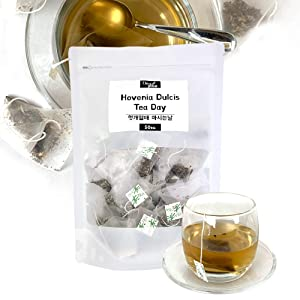 Good Day for drinking Tea Total 32 flavors and taste from different countries 50tea-Bags/Pack (HOVENIA DULCIS TEA )