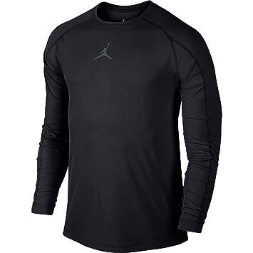 Amazon.com : Nike Mens Jordan All Season Fitted Long Sleeve ...