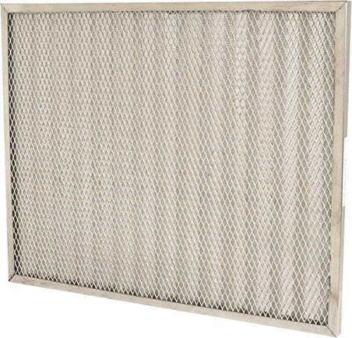Made in USA Synthetic Permanent Air Filter 20 Nom Height x 25 Nom Width x 1 Nom Depth 5 Pack