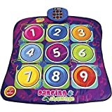 YIMAN™Children Electronic Musical Playmat Non-slip Dance Pad Dancing Mat Musical Play Mat Sensitive Zippy Toys(Numbers Style)