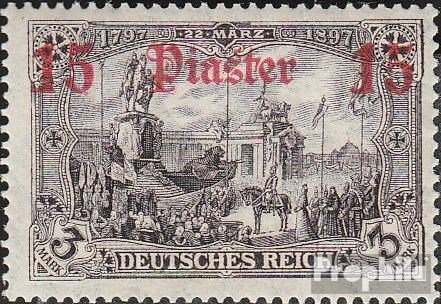 German. Post Turkey 46b 1912 print edition (Stamps for collectors) (1912 Print)