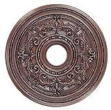Livex Lighting 8200-58 Ceiling Medallion, Imperial Bronze