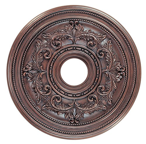 Livex Lighting 8200-58 Ceiling Medallion, Imperial Bronze