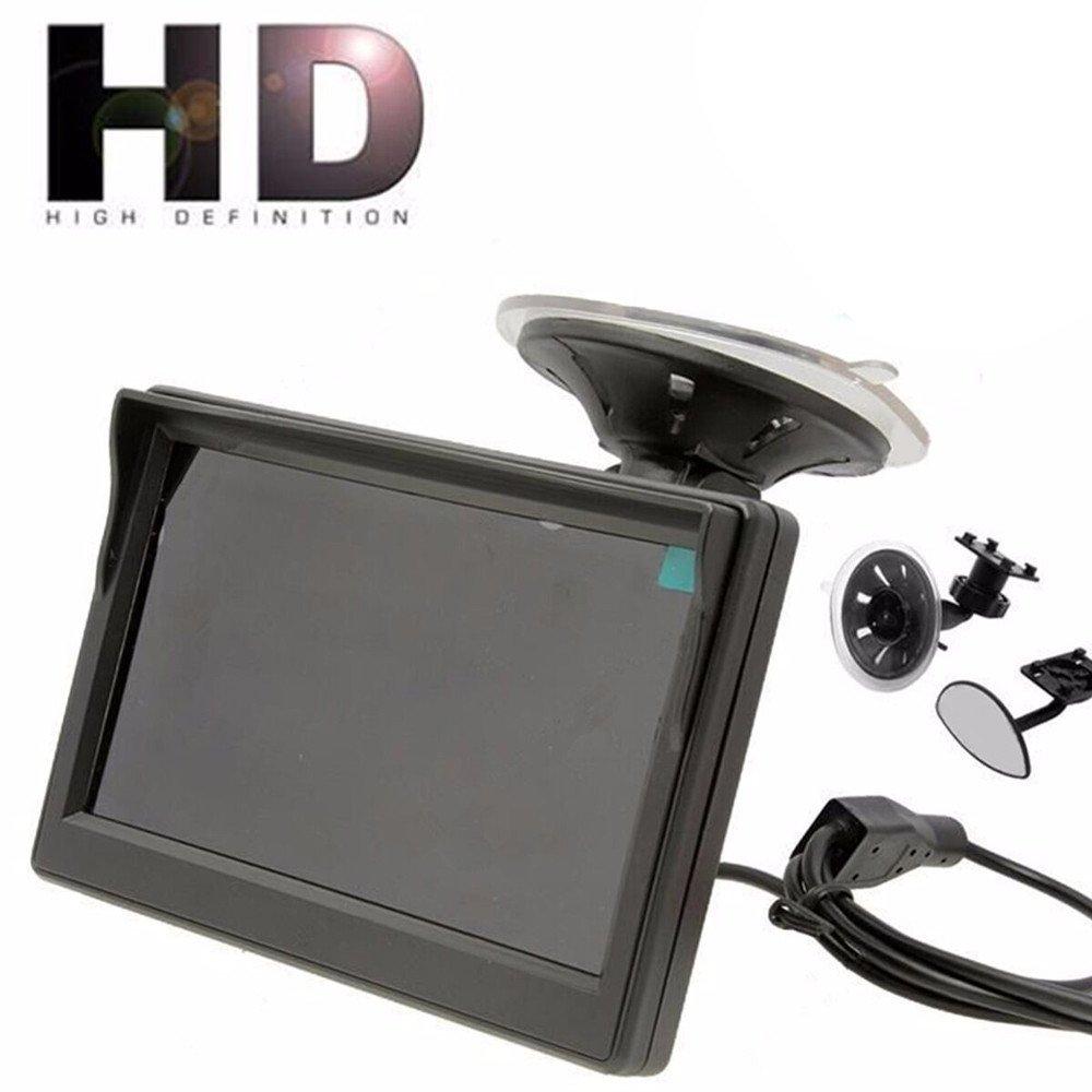 Harpily Camara Trasera de Coche 800 * 480 Tft LCD HD Monitor de Pantalla para La Cámara de Copia de Seguridad Vista Trasera del Reverso Trasero del Coche: ...