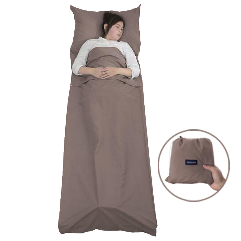 Saco Sábana – Meersee Sábana para Saco de Dormir Interior Ultraligera (Púrpura) DJJGZSD1-2