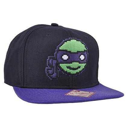 Amazon.com : BW New Ninja Turtles TMNT Pixel Donatello Black ...