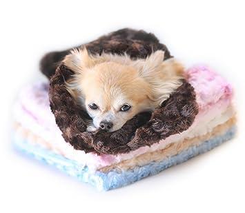 Hello Doggie Saco de dormir y techo 2 en 1 para muy pequeños perros o cachorros